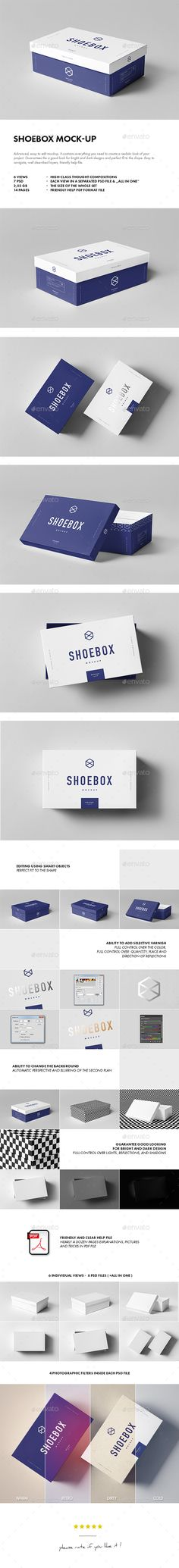 Shoebox Mockup — Photoshop PSD #3000x2008 #square • Download ➝ https://graphicriver.net/item/shoebox-mockup/18958063?ref=pxcr