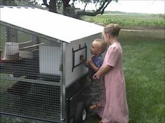 This is the best chicken tractor I have ever seen!!