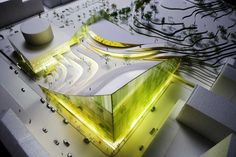 Stockholm Library Sweden : Design Contest Entry- Asplund Architecture Competition