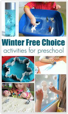 Winter Center Ideas For Preschool - No Time For Flash Cards