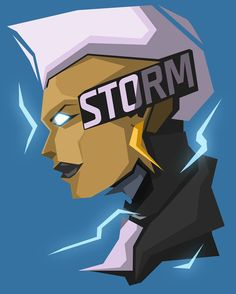 Storm -  #popheadshots complete set in HD on my behance, just google 'behance bosslogic' enjoy :)