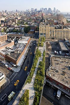 Diller Scofidio + Renfro, High Line  by: Iwan Baan