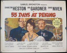 Original  55 Days at Peking  Original Half by ScreenlandMoviepaper