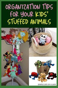 how to organize stuffed animals Organizing Stuffed Animals, Storing Stuffed Animals, Big Stuffed Animal, Stuffed Animal Storage, Bedroom Organization Diy, Organization Hacks, Diy Storage, Storage Ideas, Toy Hammock