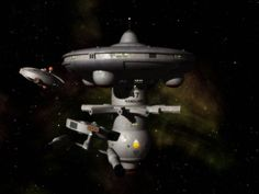 """I made a completely new model of the J-type starbase, this time buildign the """"real"""" thing, the Vanguard. I think it is far more accurate than my previous mesh. I based the specular mapping on Doug ..."""
