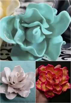 Brilliant Repurposing Project: How to Make Roses out of Plastic Spoons - DIY. Plastic Spoon Crafts, Plastic Silverware, Plastic Spoons, Plastic Bags, Plastic Bottles, Upcycled Crafts, Recycled Art, Diy And Crafts, Recycled Clothing