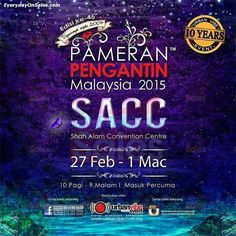 27 Feb-1 Mar 2015: Malaysia Wedding Fair 2015
