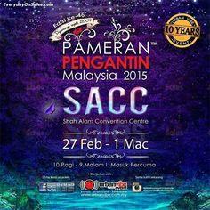 27 Feb-1 Mar 2015: Malaysia Wedding Fair 2015
