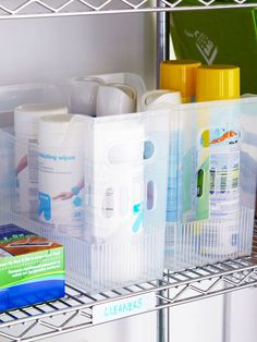 advice for storing household chemicals - and other storage issues
