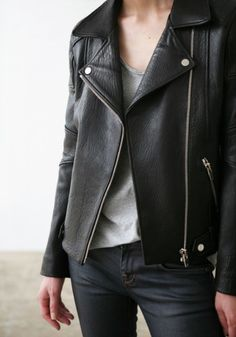 Leather jacket fashion style street style fashion style contemporary