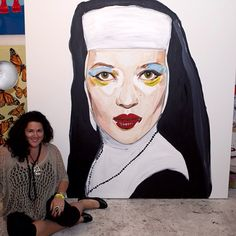 Ashley Longshore is a Louisiana-based contemporary artist whose artwork is shaking up the scene this year at New York Fashion Week. Pop Art, Art Beat, Vogue Covers, Fashion Painting, Selling Art, Artistic Photography, Art Market, Art World, Besties