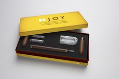 NJOY electronic cigar starter kit.   One of the best ways to quit smoking is to get an e-cigarette and gradually start replacing the normal cigarette. Try our starter kits here at www.e-cigarilicious.com #ecigarettes #vaporizers #eliquid #clearomizer