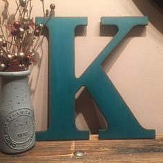 Custom Listing ~ any TWO letters and Ampersand (&), made to order, customized letters, A B C D E F G H I J K L M N O P Q R S T U V W X Y Z