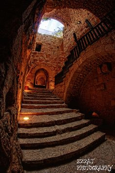 *JORDAN ~ Ajloun castle in Jordan was built by Saladins nephew in 1184 to protect the country against Crusader attacks. What a beautiful piece of history. Rent a cabin right next to it! The Places Youll Go, Places To See, Voyager C'est Vivre, Jerash, Jordan Travel, Abandoned Places, Architecture, Middle East, Places To Travel