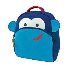 Fair Trade Backpacks - Blue Monkey