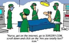 Weekly Dose of Nursing Humor! Come an have a laugh with us. Our weekly humor is the best medicine for any nurse Medical Jokes, Nurse Jokes, Medical School, Funny Cartoons, Funny Comics, Funny Jokes, It's Funny, Funniest Jokes, Nurse Humor