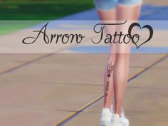 1 Swatch. Found in TSR Category 'Sims 4 Female Tattoos'