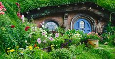 Hobbiton - Lord of the Rings Movie Set,  New Zealand. On my list for 2013 :)