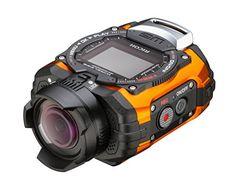 """Ricoh WG-M1 Caméra d'action embarquée étanche Écran 1,5"""" 14 Mpix - Orange Ricoh http://www.amazon.fr/dp/B00NFD045A/ref=cm_sw_r_pi_dp_S7hCwb1YDFH2R"""