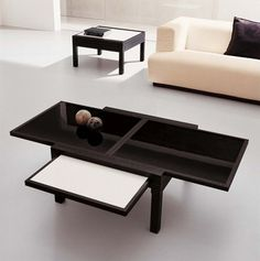 wenge contemporary coffee table - materialicious | modern living