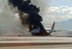 VENI VIDI VICI: AGEN POKER - Pesawat Terbakar di Las Vegas, Sebany...