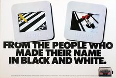 The first ad of their campaign. Simon Minchin's work prior to him working for Minchin & Grimshaw Art Director, Creative Director, First Ad, Old Photography, Copywriting, Campaign, Films, Ads, Black And White