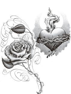 Chicano Art Drawings Roses | chicano rose thugs chica tat by *2Face-Tattoo on deviantART - See It