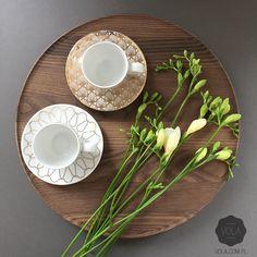 Hand blown glass & finest porcelain with unique 24k gold decorations. Shop online at... : www.vola.com.pl #vola #art #deco #porcelain #glass #24k #gold #exclusive #gift #packaging #design #branding