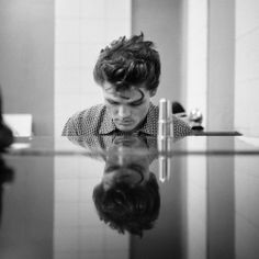 Jazz musician and singer Chet Baker, Hollywood, California, United States, 1954, photograph by William Claxton.