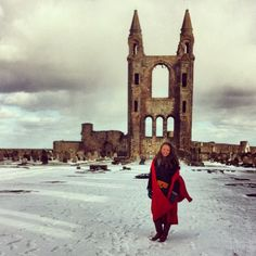 St Andrews Cathedral - Photo by hannahkanderson