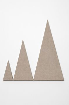 Martin Creed - Work No. 2598, 2015. Unpainted canvas, 60 x 60 cm