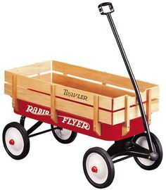 never had one ...but the neighbor boy did and we would sell kool aide in his old radio flyer. We went all over the neighborhood looking for a buyer.