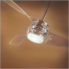 whirl 44 inch clear blade decorative ceiling fan with remove