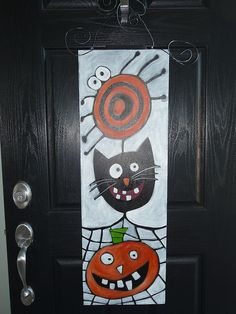 Halloween ~ door decor ~