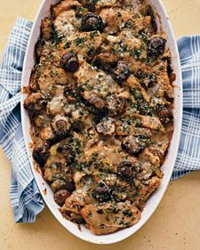 Chicken, Leek, and Mushroom Casserole