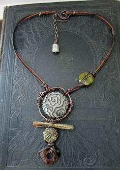 Necklace by Love My Art Jewelry