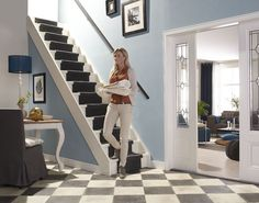#Renoveer je trap, met CanDo #traprenovatie. Stairs, Home Decor, Style, Fashion, Swag, Moda, Stairway, Decoration Home, Staircases