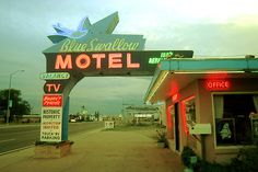 This is a really cute motel in person.  I kinda want to stay there sometime.  I hope it's clean!