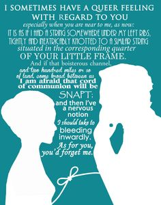 Jane Eyre art print novel movie quotes mr rochester by LeighsArt