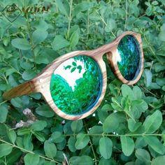 9ce6045459 Polarized Retro Round Frame Handmade Wood Sunglasses. SunglassesSunniesMens  GlassesAliEyewearShadesRound FrameHandmade WoodenMagazine