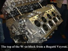 Veyron engine block