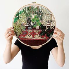 This is absolutely unreal. #artist #embroidery #creativity #inspiration #fiberarts
