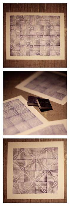 Karolina-G / stempel / stamp