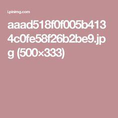 aaad518f0f005b4134c0fe58f26b2be9.jpg (500×333)