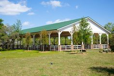 Dream Stables, Dream Barn, Horse Stables, Horse Farms, Horse Barn Designs, Horse Arena, Indoor Arena, Outdoor Pavillion, The Ranch