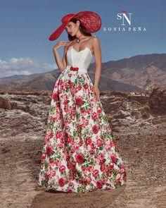Vestidos de Fiesta, Vestidos de madrina, Vestidos para boda, Vestidos de Coctel 2017. Colección Primavera Verano Completa 2017 Scarlett. Sonia Peña - Ref. 1170197