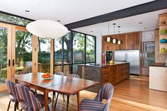 Love this kitchen and these chairs! http://studiobuild.com/#/dwelling-3918/