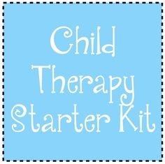 Create Your Own Child Therapy Starter Kit - http://www.socialworkhelper.com/2014/06/02/child-therapy-toy-list-and-diy-starter-kit/?Social+Work+Helper