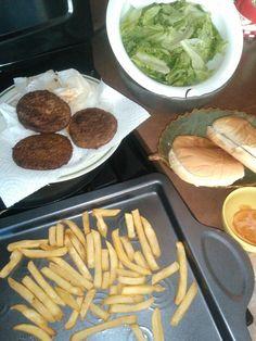 Hamburger  hechas  en Casa