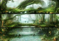 The Forest by mrainbowwj.deviantart.com on @deviantART
